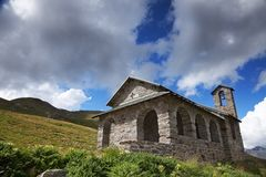 Alpin church Stock Photos
