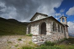 Alpin church Royalty Free Stock Photo