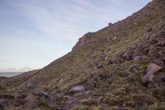 alpin crossingtongariro Arkivbild