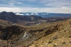 alpin crossingtongariro Royaltyfri Foto