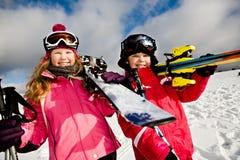 Alpin do esqui Fotografia de Stock