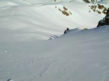 alpin fred Arkivbilder