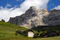 alpin grön liggandesommar royaltyfri fotografi