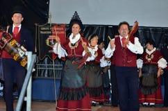 Alpin Hornfestival Arkivbild