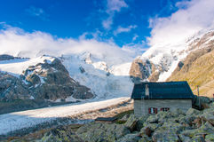 Alpin hut Royalty Free Stock Photos