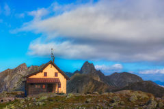 Alpin hut Royalty Free Stock Photography