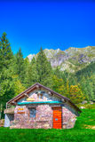 Alpin hut Royalty Free Stock Photo