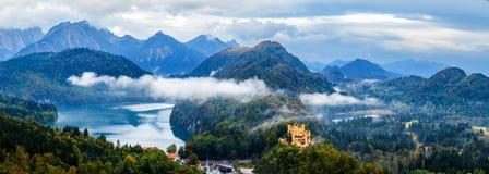 Alpin jezioro Fotografia Royalty Free