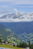 Alpin kabelbil Royaltyfria Foton