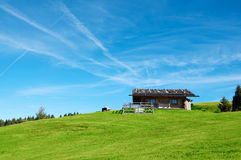Alpin kabin Royaltyfria Foton