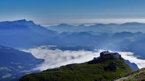 Alpin kojaBayern Tyskland Royaltyfri Bild