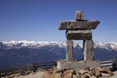 Alpin konst för Whistler Royaltyfri Bild