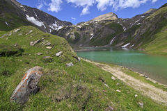 alpin lake Arkivfoto