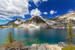 alpin lake Royaltyfria Foton