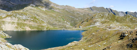 Alpin lake at Maggia valley Stock Images