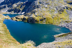 Alpin lake at Maggia valley Stock Photos