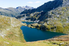 Alpin lake at Maggia valley Royalty Free Stock Photography