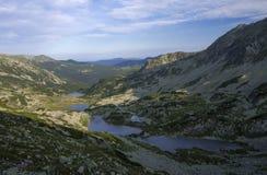 alpin lakesnationalparkretezat fotografering för bildbyråer