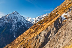 Alpin Landscape Royalty Free Stock Photo