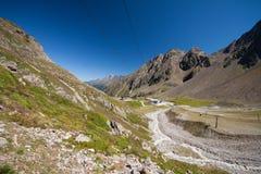 Alpin liggande Arkivfoton