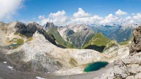 alpin panorama Royaltyfria Foton