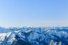 Alpin panorama III Arkivbilder