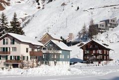 alpin plats switzerland Royaltyfria Bilder