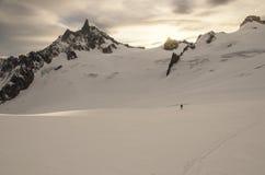Alpin sikt Royaltyfri Bild