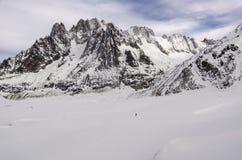 Alpin sikt Royaltyfria Foton