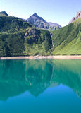 Alpin sjö Royaltyfri Foto