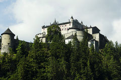 Alpin slott Royaltyfria Foton