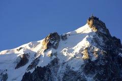 alpin stationstoppmötesikt Royaltyfri Bild