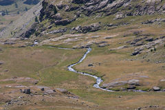 alpin ström Royaltyfri Foto