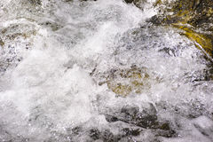 Alpin stream with water cascade Stock Photography