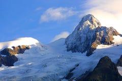 alpin toppmötesikt Royaltyfri Fotografi