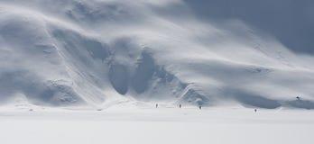 Alpin Trekking Arkivfoton