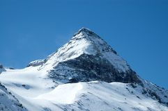 Alpin-Winter stockbild