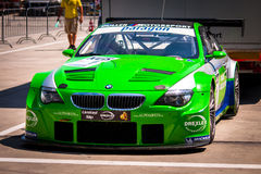 Alpina B6 GT3 racing car Royalty Free Stock Photo