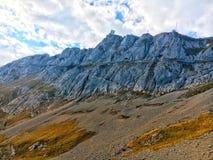alpina berg Royaltyfri Bild