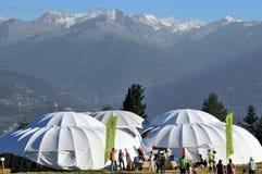 alpina horns Royaltyfri Bild
