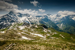 Alpina road Royalty Free Stock Image