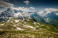 Alpina väg Royaltyfri Bild