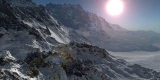 Alpine2 Imagen de archivo libre de regalías