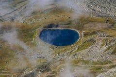 Alpine Alpenberglandschaft bei Jungfraujoch, Spitze von Europa-Schalter Lizenzfreies Stockfoto