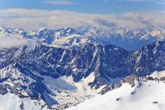Alpine Alps mountain Stock Photos