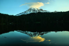 Alpine Ansichten Stockfoto