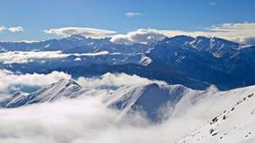 Alpine arc in winter Stock Photography