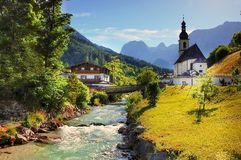 Alpine, Architecture, Bridge Stock Images