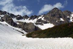Alpine area. Retezat Mountains, Bucura and Pietrele area Royalty Free Stock Image