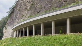 Alpine Bahn in Süd-Österreich Lizenzfreies Stockbild